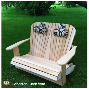 Loveseat Adirondack Chair